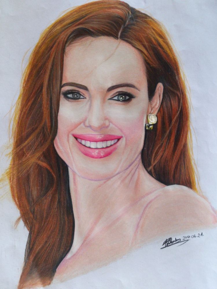 Angelina Jolie by Ayame90